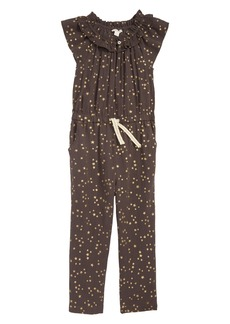 crewcuts by J.Crew Star Jumpsuit (Toddler Girls, Little Girls & Big Girls)