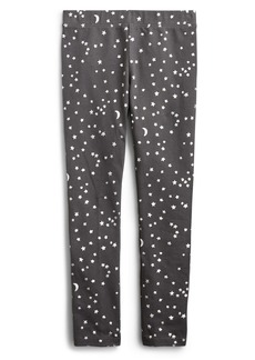 crewcuts by J.Crew Stars & Moons Everyday Leggings (Toddler Girls, Little Girls & Big Girls)