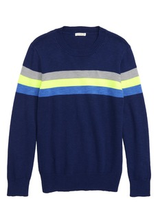 crewcuts by J.Crew Stripe Crewneck Sweater (Toddler Boys, Little Boys & Big Boys)