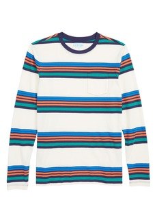 crewcuts by J.Crew Stripe Pocket T-Shirt (Toddler Boys, Little Boys & Big Boys)