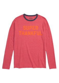 crewcuts by J.Crew Super Thankful T-Shirt (Toddler Boys, Little Boys & Big Boys)
