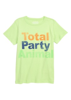 crewcuts by J.Crew Total Party Animal T-Shirt (Toddler Boys, Little Boys & Big Boys)