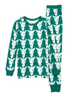 crewcuts by J.Crew Tree Print Fitted Two-Piece Pajamas (Toddler Boys, Little Boys & Big Boys)
