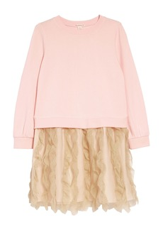 crewcuts by J.Crew Tulle Mixy Dress (Toddler Girls, Little Girls & Big Girls)