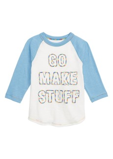 crewcuts by J.Crew x Kid Made Modern Go Make Stuff T-Shirt (Toddler Boys, Little Boys & Big Boys)