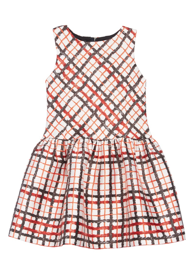 aaf7b027df3 crewcuts by J.Crew x Kid Made Modern Licorice Print Dress (Toddler Girls