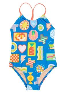 crewcuts by J.Crew x Kid Made Modern One-Piece Swimsuit (Toddler Girls, Little Girls & Big Girls)