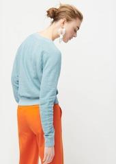J.Crew Crewneck pullover in vintage cotton terry