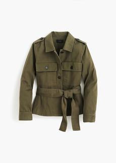 J.Crew Cropped fatigue jacket