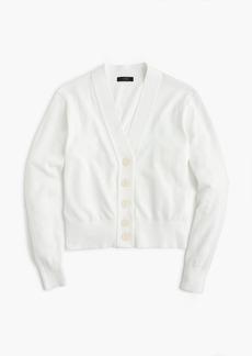 J.Crew Cropped lightweight cardigan sweater
