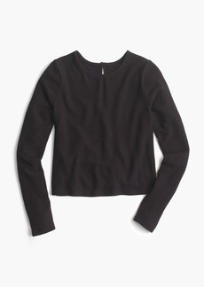 J.Crew Cropped long-sleeve T-shirt