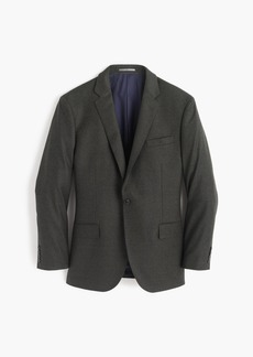 J.Crew Crosby suit jacket in heathered Italian wool flannel
