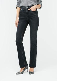 J.Crew Curvy demi bootcut jean in washed black