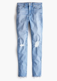 J.Crew Curvy toothpick jean in medium blue