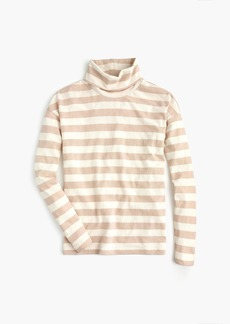 J.Crew Deck-striped turtleneck T-shirt