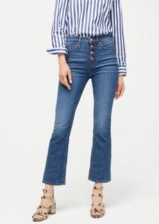 J.Crew Demi-boot crop eco jean in medium worn wash