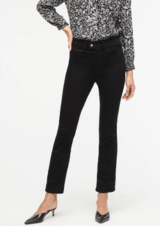 J.Crew Demi-boot crop trouser jean in black