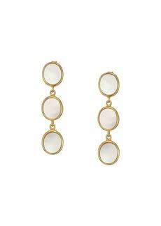 J.Crew Demi-Fine Pearl 3 Drop Earrings