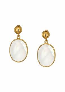 J.Crew Demi-Fine Pearl Inlay Earrings