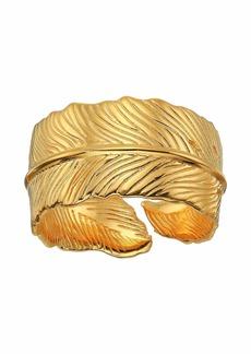 J.Crew Demi-Fine Leaf Wrap Ring