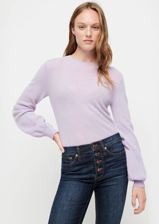 DEMYLEE® X J.Crew balloon-sleeve sweater in cashmere