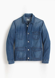 J.Crew Denim chore jacket with patch pockets