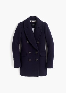 J.Crew Double-breasted coat in double-cloth wool