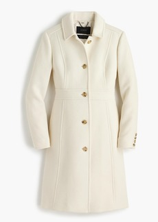 J.Crew Petite Italian double-cloth wool  lady day coat with Thinsulate®