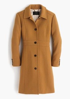 J.Crew Tall Italian double-cloth wool lady day coat with Thinsulate®