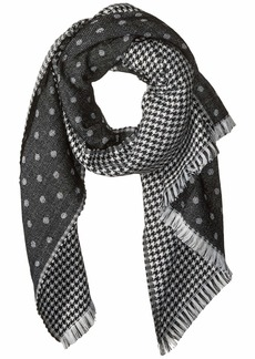 J.Crew Double Sided Houndstooth Scarf