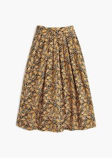 Drake's® for J.Crew skirt in giraffe print