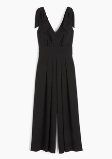 Drapey tie-shoulder jumpsuit