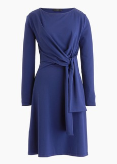 J.Crew Drapey tie-waist dress