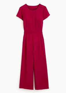 Drapey wrap-back jumpsuit