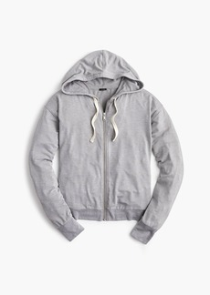 J.Crew Drawstring zip-up hoodie sweatshirt