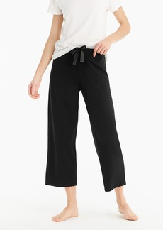 J.Crew Dreamy cotton wide leg sleep pant
