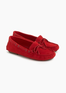 J.Crew Driving moccasins in suede