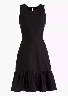 Dropwaist dress in classic faille