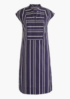 J.Crew Easy tunic dress in striped poplin