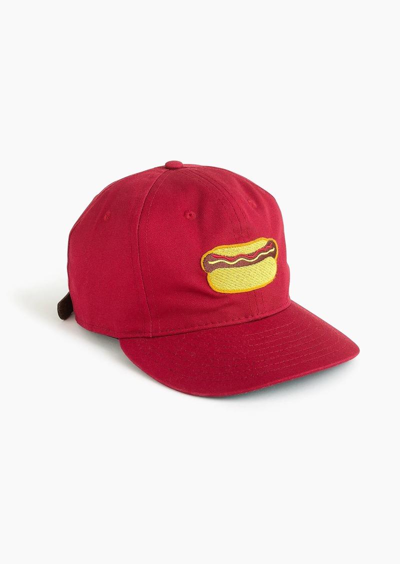 J.Crew Ebbets Field Flannels® for J.Crew hot dog ball cap b5cdd3d9134