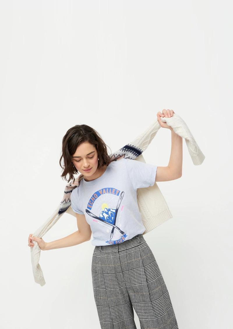 J.Crew Echo valley cotton graphic T-shirt