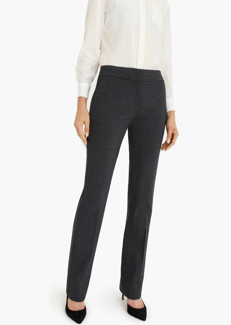 J.Crew Edie full-length trouser in Italian stretch wool