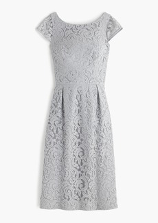 Elsa dress in Leavers lace