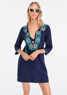 J.Crew Embroidered beach tunic