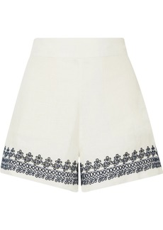 J.Crew Embroidered Linen Shorts