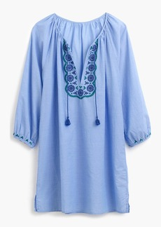 J.Crew Embroidered tunic