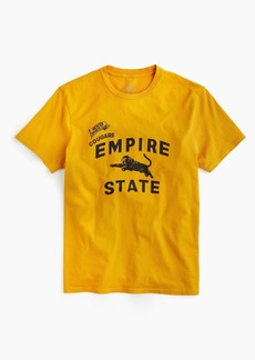 Empire State cougar graphic T-shirt