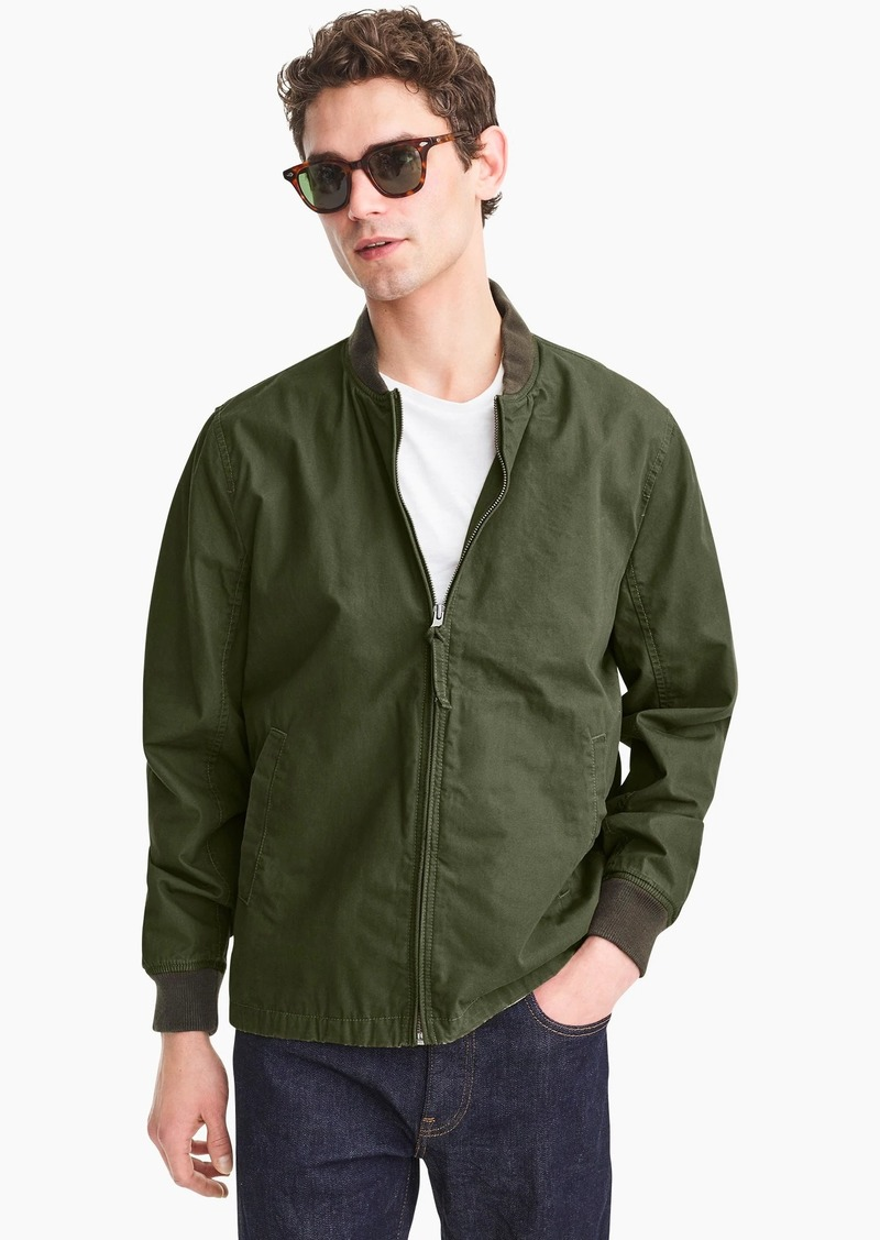 J.Crew Everyday bomber jacket
