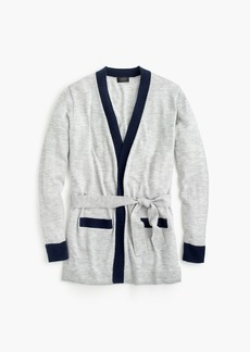 J.Crew Everyday cashmere colorblock long cardigan