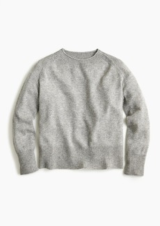 J.Crew Everyday cashmere ribbed-neck sweater